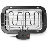 Churrasqueira Elétrica Gourmet Multilaser Preta 127V - Ce19