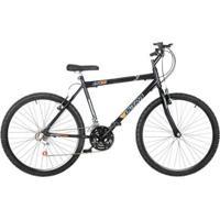 Bicicleta Aro 26 Aço Carbono 18 Marchas V- Breake Ultra Bikes - Unissex