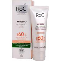 Protetor Solar Roc Minesol Tinted Gel Creme Cor Universal Fps60 50G