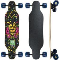 Skate Longboard Completo Pgs Lion Colors 7.9 - Unissex