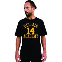 Camiseta Cnx Fresh Prince Bel Air Academy Will Smith Preta E Amarela.