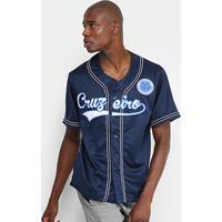 0156b5c470 Camisa Cruzeiro Baseball Masculina - Masculino