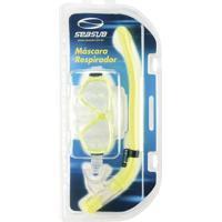 Kit Astra 3 Máscara + Respirador Seasub - Unissex