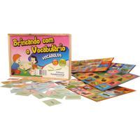 Brincando Com O Vocabulário 126 Peças - Fundamental - Tricae