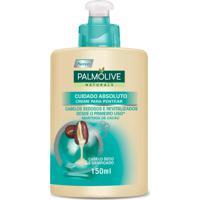 Creme Para Pentear Palmolive Naturals Cuidado Absoluto 150Ml - Incolor - Dafiti