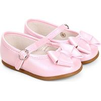 Sapato Infantil Pimpolho Laço Feminino - Feminino-Rosa