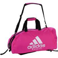 Bolsa Mochila Karate 2In1 Poliéster Rosa Prata 40L Adidas