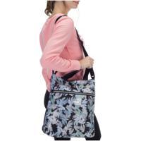 Bolsa Puma Core Seasonal Shopper - Feminina - Preto/Verde Cla