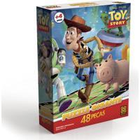 Quebra-Cabeça Gigante - Disney - Toy Story - Grow - Unissex-Incolor