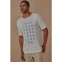 T-Shirt Nautic Bege - P
