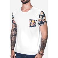 Camiseta Manga Aquarela 102818