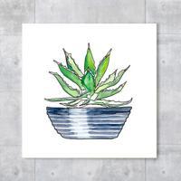 Placa Decorativa - Aloe