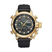 Relógio Masculino Oulm Hp3811 Analógico E Digital - Preto E Dourado