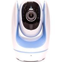 Babá Eletrônica Ip Fosbaby Foscam Azul Com Gravação E Conexão Via Wi-Fi E Internet A Celulares