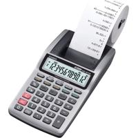 Calculadora Portátil Casio Hr-8Tm 1,6 Linhas Por Segundo Mini-Impressora Cinza