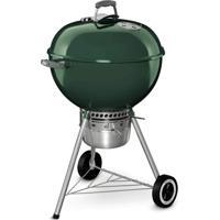 Churrasqueira À Carvão Weber Original Kettle Premium 52Cm Verde Com Termômetro