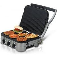 Grill Griddler Cuisinart Gr4 / 5 Em 1 / Potência 1500W / Em Aço Escovado / 110V