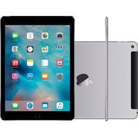 "Ipad Air 2 Apple Wi-Fi + Cellular 128Gb 4G Tela Retina De 9,7"" Ios 9 Cinza Espacial"