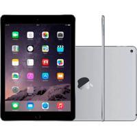 """Ipad Air Apple Wi-Fi 16Gb Tela Retina De 9,7"""" Câmera 5Mp E Processador M7 Cinza Espacial"""
