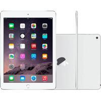 """Ipad Air Apple Wi-Fi 32Gb Tela Retina De 9,7"""" Câmera 5Mp E Processador M7 Prata"""