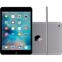 "Ipad Mini 2 Apple Wi-Fi 32Gb Tela Retina De 7,9"" Câmera 5Mp E Processador M7 Cinza Espacial"