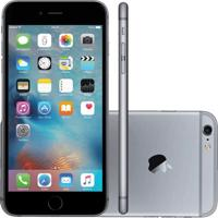 """Iphone 6 Plus Apple 16Gb Cinza Espacial Tela 5.5"""" Ios 9 4G E Câmera De 8Mp"""