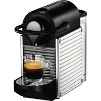 Máquina De Café Nespresso / C60 Pixie Steel / Cromada / 110V / Com 2 Xícaras