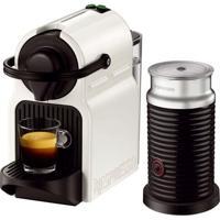 Máquina De Café Nespresso Inissia 110V Branca Com Aeroccino