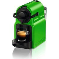 Máquina De Café Nespresso Inissia 110V Verde Com Desligamento Automático