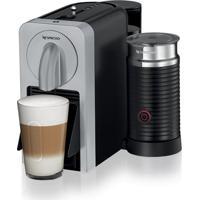 Máquina De Café Nespresso Prodigio & Milk Silver 110V Com Aeroccino E Bluetooth