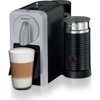 Máquina De Café Nespresso Prodigio & Milk Silver 220V Com Aeroccino E Bluetooth