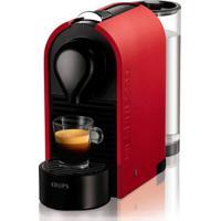 Máquina De Café Nespresso U Mat Vermelho Fosco 220V 19 Bar Com Desligamento Automático
