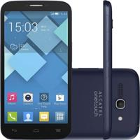 Smartphone Alcatel Ot-7047 Pop C9 Cinza Dual Chip Android 4.2 Câmera 8Mpx