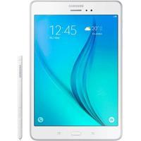 Tablet Samsung Galaxy Tab A Com S Pen 8.0 16Gb Wifi 4G Android 5.0 Câmera 5Mp Branco