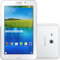 "Tablet Samsung Galaxy Tab E 7.0"" Branco 8Gb 3G Câmera 2Mp Quad Core 1Gb De Ram"