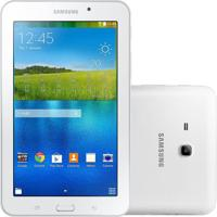 "Tablet Samsung Galaxy Tab E 7.0"" Branco 8Gb Wi-Fi Câmera 2Mp Quad Core 1 Gb De Ram"