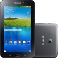 "Tablet Samsung Galaxy Tab E 7.0"" Preto 8Gb Wi-Fi Câmera 2Mp Quad Core 1 Gb De Ram"