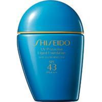 Base Líquida Protective Uv Shiseido Light Ivory