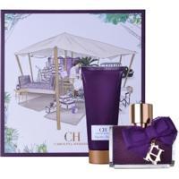 Coffret Carolina Herrera Ch Sublime Feminino Eau De Parfum 80Ml E Body Lotion 100Ml