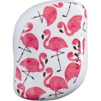 Escova De Cabelo Compact Styler Skinny Dip Flamingo Branco